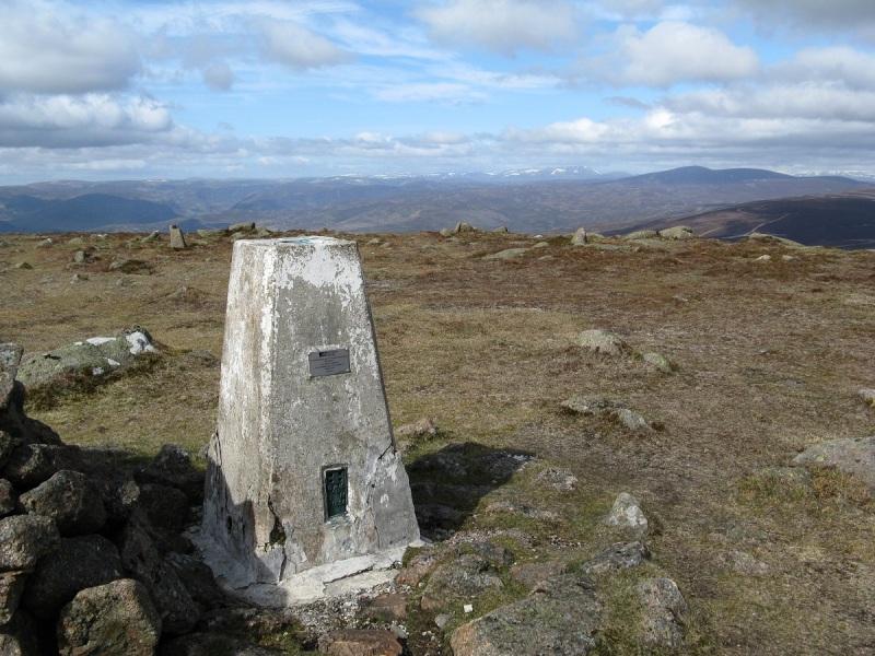 Top of Mount Battock