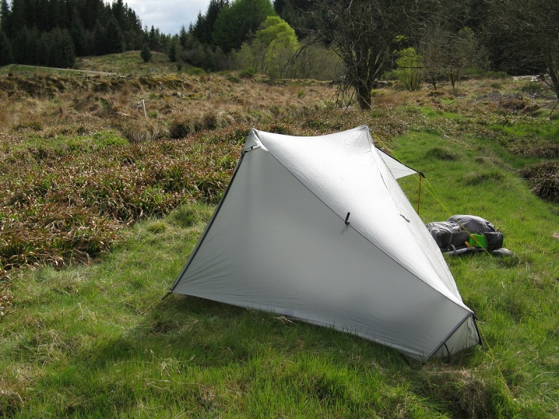 Camped in Fetteresso Forest, only 8 km from the coast.