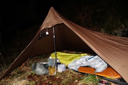Tarping in the Valley of Desolation